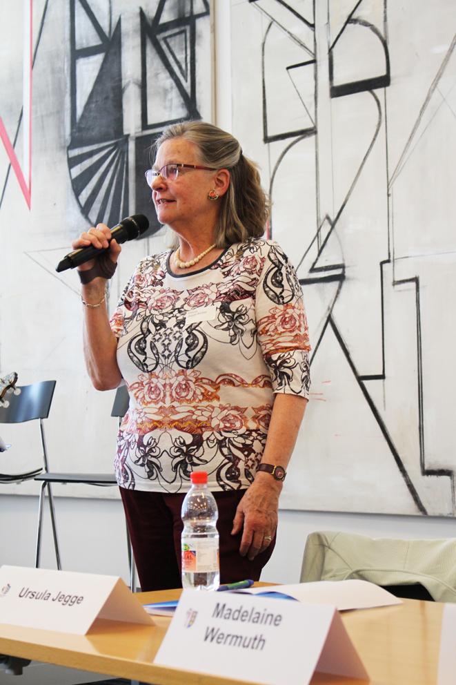 Verabschiedung Ursula Jegge